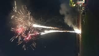 Màn bắn pháo bông 2019 tại sân vận động đồng nai