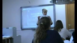 Урок химии в 8 классе с учителем Шурпиковой О.В.