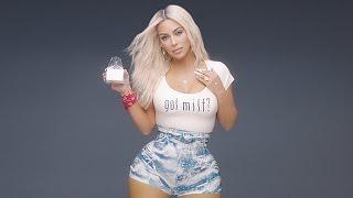 Kim Kardashian's tiny waist in Fergie's MILF$ music video @Hodgetwins