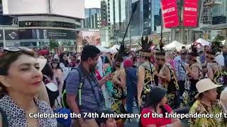 Download lagu Poco Poco Flash Mobs Takes Over Toronto 08-04-2019