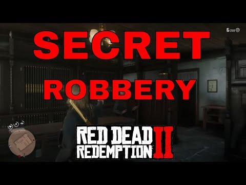Saint Denis Gunsmith Secret Robbery   Red Dead Redemption 2