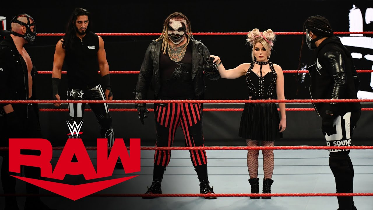 The Fiend & Alexa Bliss meet RETRIBUTION: Raw, Oct. 19, 2020