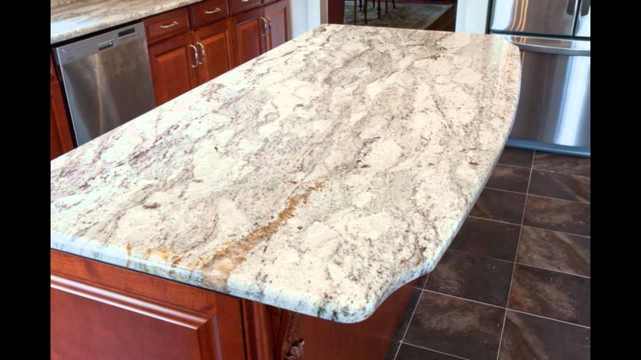 Taupe White Granite By Granite Grannies Youtube