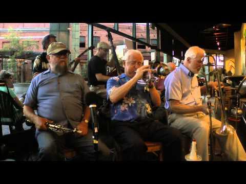 """""""ON TREASURE ISLAND"""": MARTY GROSZ / CLINT BAKER (Cafe Borrone, August 15, 2014)"""