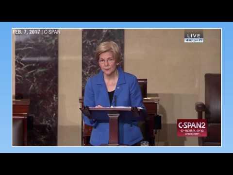 Republicans silenced Elizabeth Warren while debating Jeff Sessions