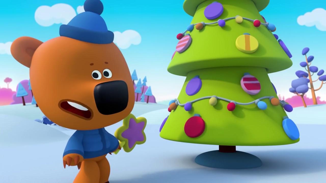Ми-ми-мишки ЗИМА - все серии подряд - Мультики для детей