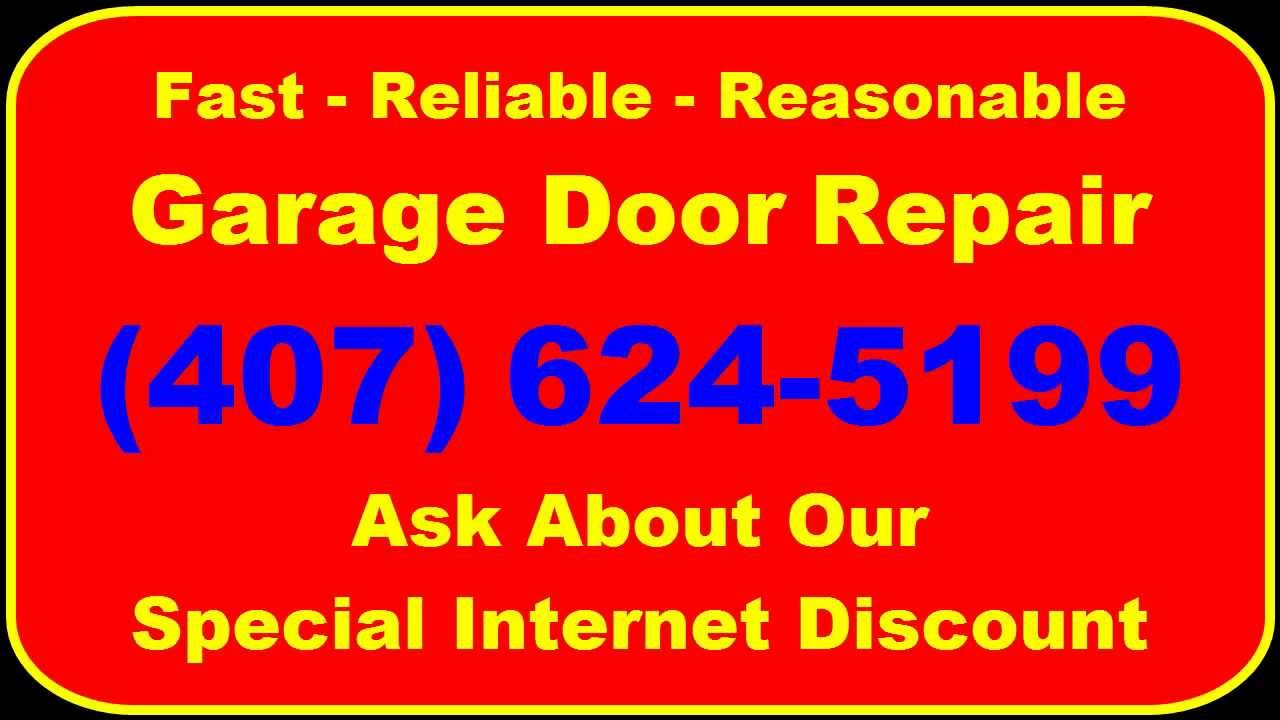 Garage Door Repair In Kissimmee Fl   (407) 961 7151