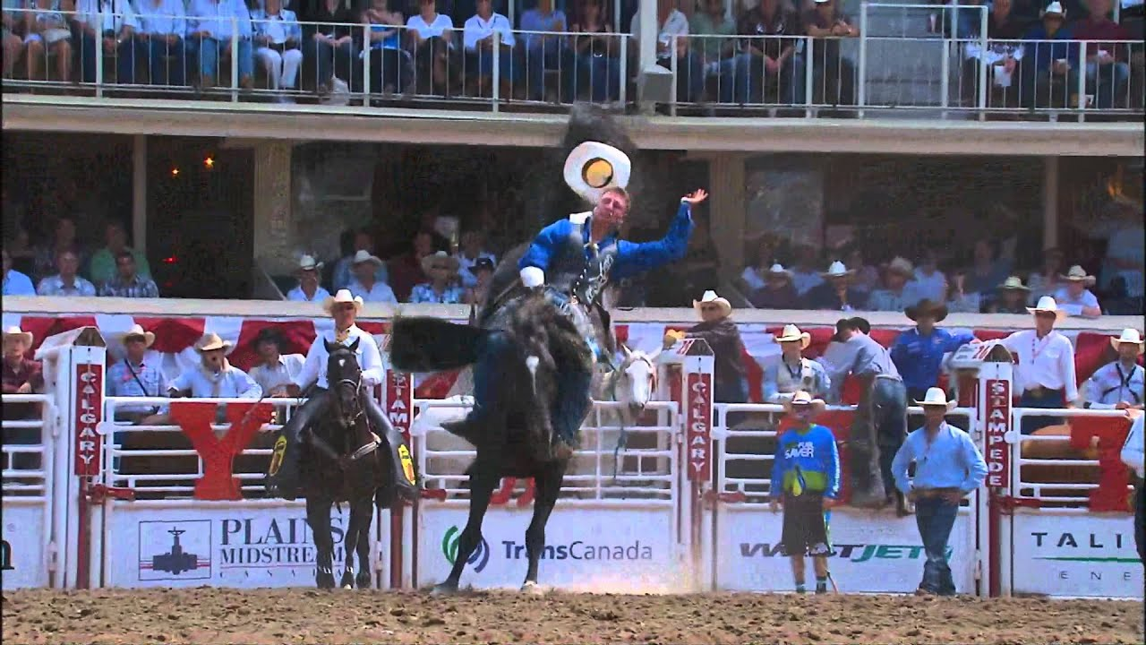 July 10 2012 Calgary Stampede Rodeo Highlights Youtube