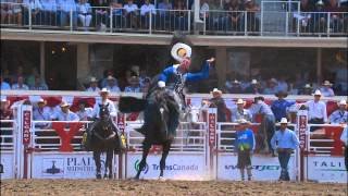 July 10, 2012: Calgary Stampede Rodeo Highlights