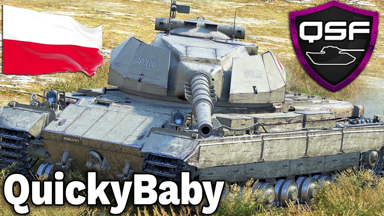 KLAN QuickyBaby – Polska vs Europa – World of Tanks