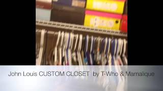 Diy Custom Closet Organizer By John Louis Home Collection