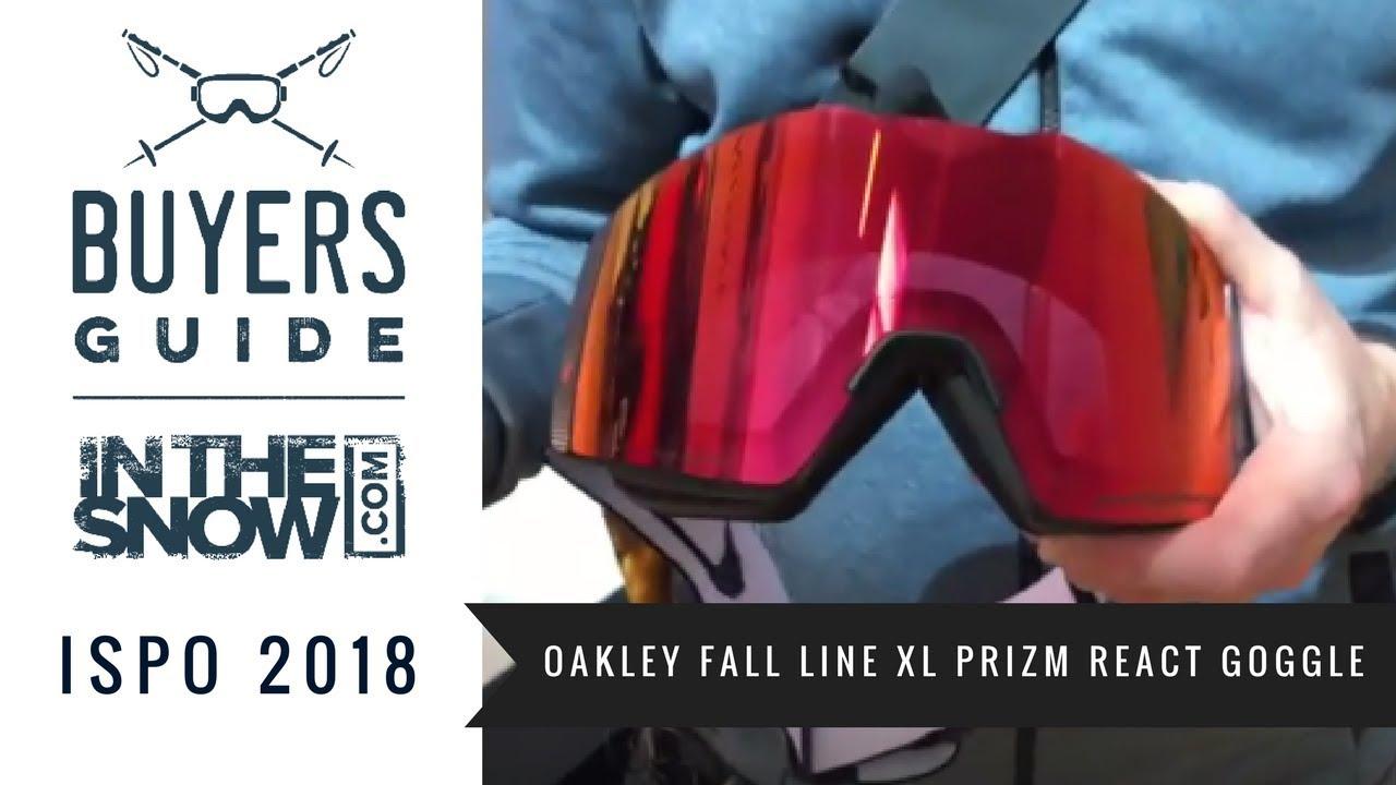 05c965e86d6e Oakley Fall Line XL Prizm React Goggle Review - YouTube