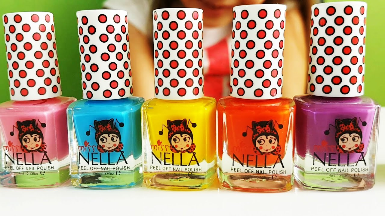 Miss Nella Nail Polish for kids Video review from KIDS TOYS