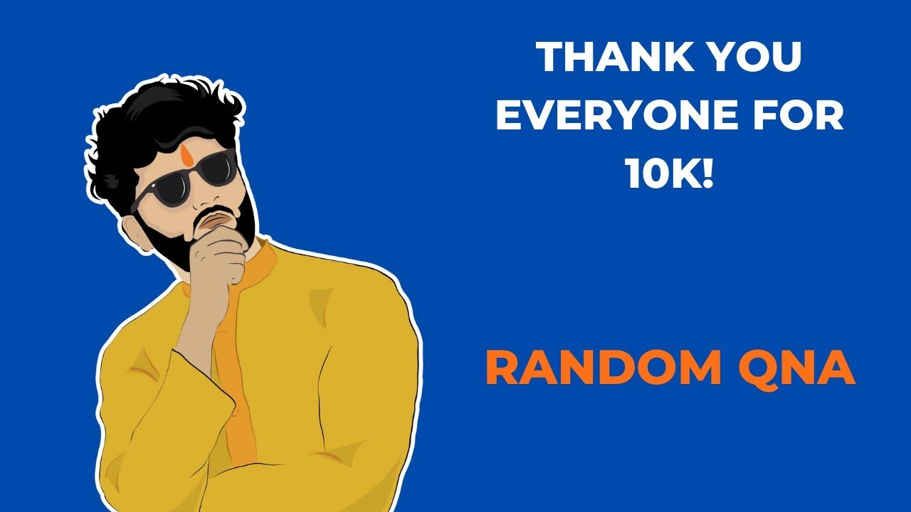 LIVE 🛑 | Random QnA | Celebrating A 10k Family