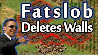 Fatslob Deletes His Walls...