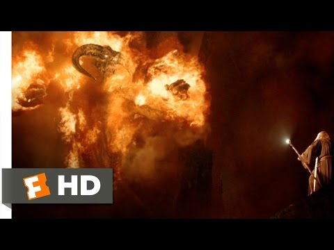You Shall Not Pass - The Lord of the Rings: The Fellowship of the Ring (7/8) Movie CLIP (2001) HD