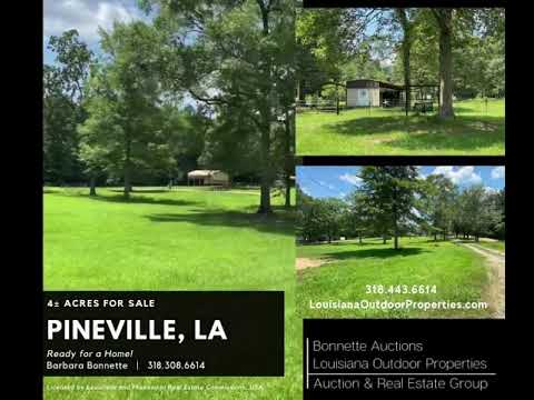 4± Acres For Sale in Pineville, LA - YouTube