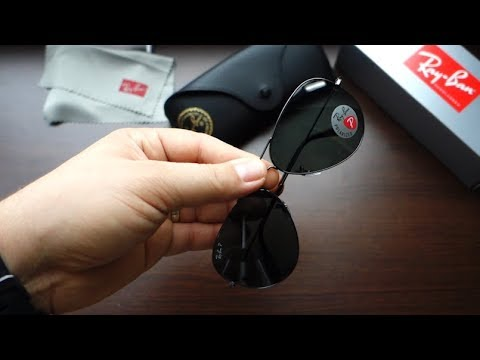5f7db232ce Review Ray-Ban RB3025 004 58 62 classic gunmetal G15 polarized lenses   how  to spot a fake