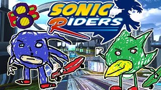 Sonic Riders - The Future Of IQ Tests