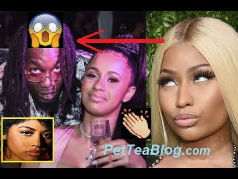 Offset & Hennessy React to Nicki Minaj Sub Tweeting Cardi B Relationship with him 😱