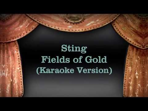 Sting - Fields of Gold (Karaoke Version) lyrics