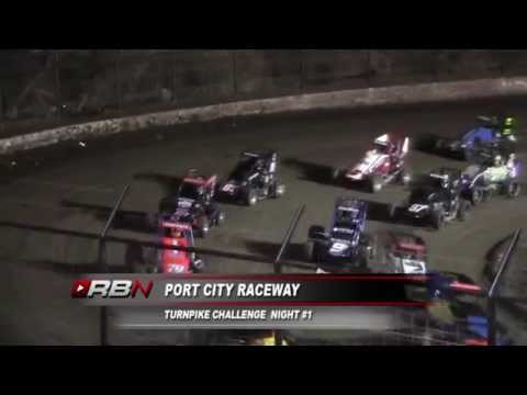 Christopher Bell wins night #1 at Port City Raceway.