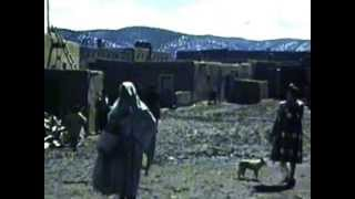 Tourist Film, 1940, home movie filmed by tourists while visiting the pueblo in Taos, 1940