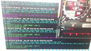 Майнинг GTX1060 RX480 RX580 вывод денег с биржи по лучшему курсу обзор пула ethermine.org