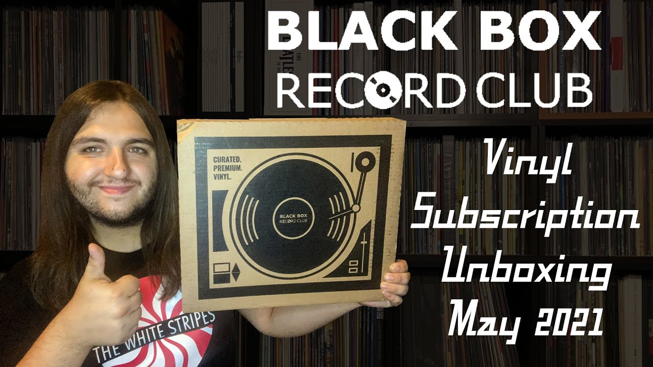 Black Box Record Club - Vinyl Subscription Unboxing (May 2021) | Vinyl Community