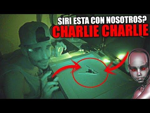 NUNCA JUEGUES A CHARLIE CHARLIE CHALLENGE Y LE PREGUNTES POR SIRI A LAS 3 AM 😱🙀