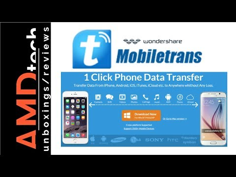 How To Transfer Android To IPhone In 1-click With Wondershare MobileTrans