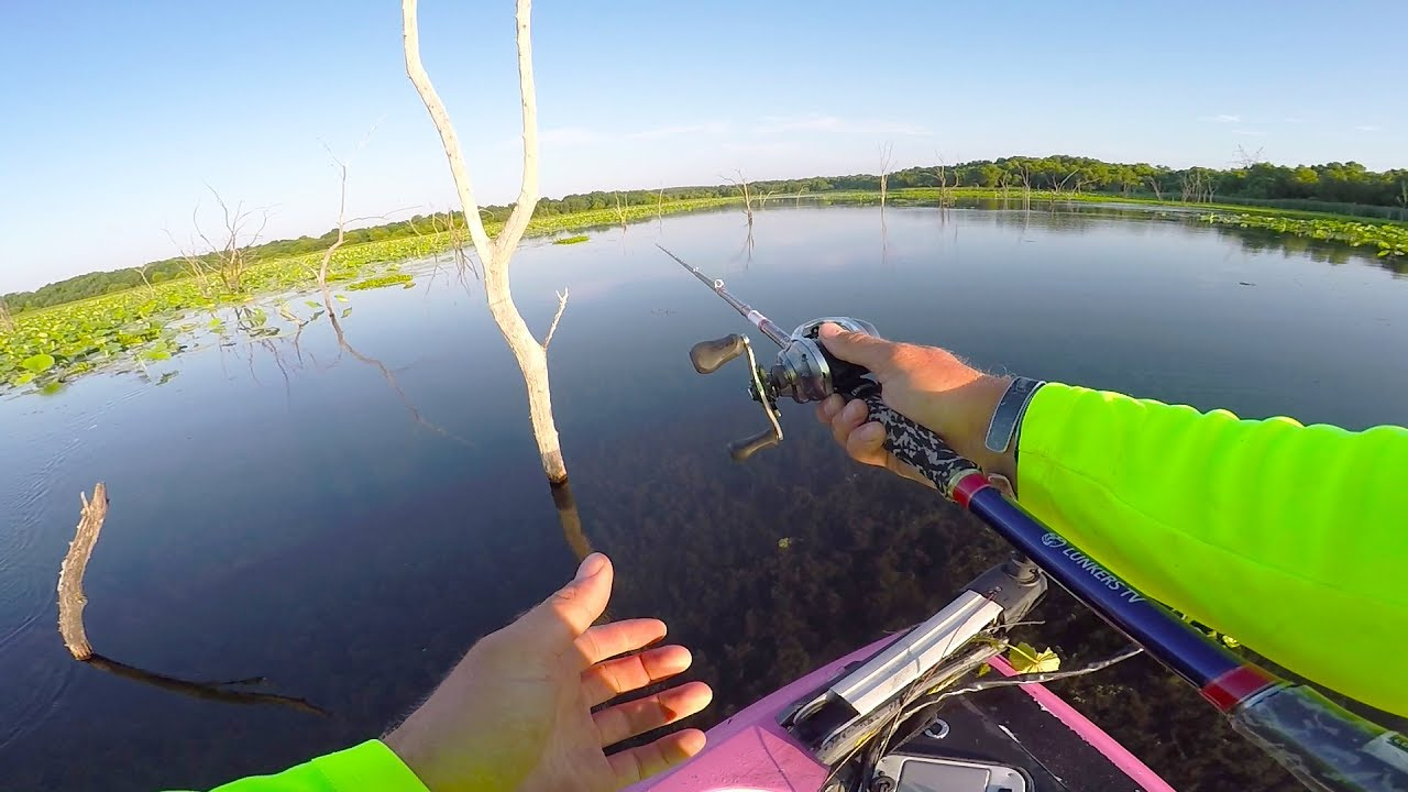 This is why i love bass fishing what a rush youtube for Lunkerstv fishing rods