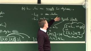Classification of Lie algebras and Dynkin diagrams - Lec 14 - Frederic Schuller