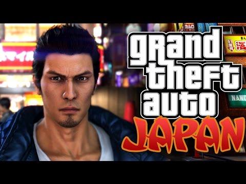 GRAND THEFT AUTO JAPAN (Yakuza 6 Gameplay)