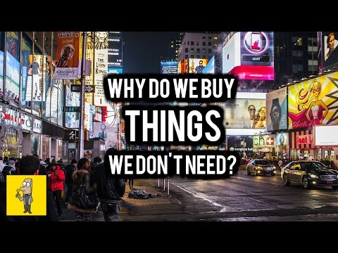 Why do we buy things we dont need?  Adverts & Theodor Adorno
