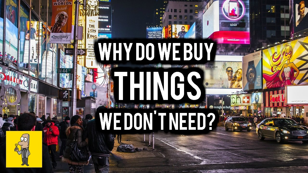 Why do we buy things we don\'t need? | Adverts & Theodor Adorno - YouTube