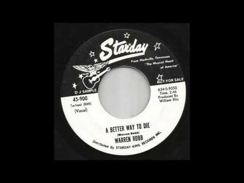 Warren Robb - A Better Way To Die