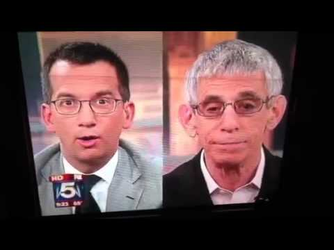 Richard Belzer slips on Fox 5