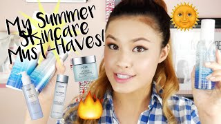 Gambar cover MY SUMMER SKINCARE MUST-HAVES   Hot Weather + Humidity Recommendations