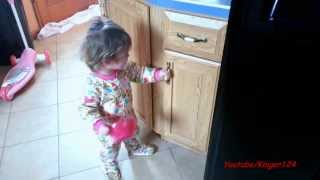 Locked The Junk Food Cabinet.. 2 Year Old Goes Crazy!