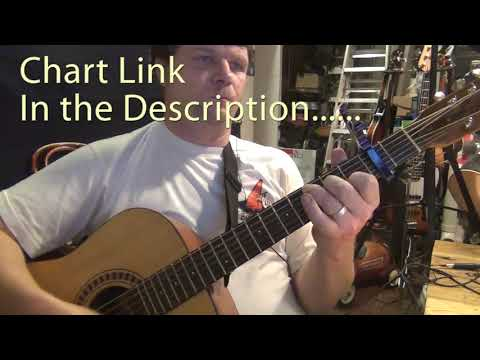 Dirt Road Anthem (Jason Aldean) Guitar Chord Chart - Capo 2nd Fret