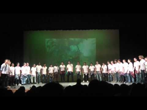 Desert Oasis High School Men Varsity Choir 2015
