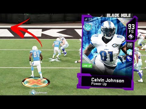CALVIN JOHNSON FREE SAFETY IS UNSTOPPABLE OMG - Madden 20 Gameplay