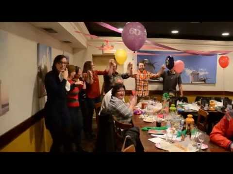 Macedonian Dancing in a Greek restaurant