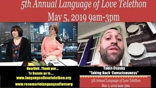 "Tobin Osusky ""Taking Back Consciousness""`2019 Language of Love Telethon ~ Stroke & Aphasia"