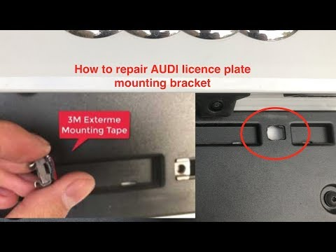 Audi S5 Show N Go License Plate Holder Doovi