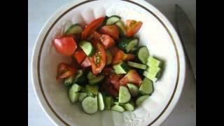 Салат с базиликом видео рецепт UcookVideo.ru