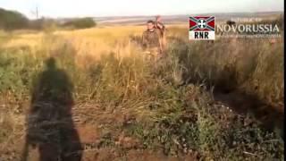 Уникальные кадры боя под Дмитриевкой