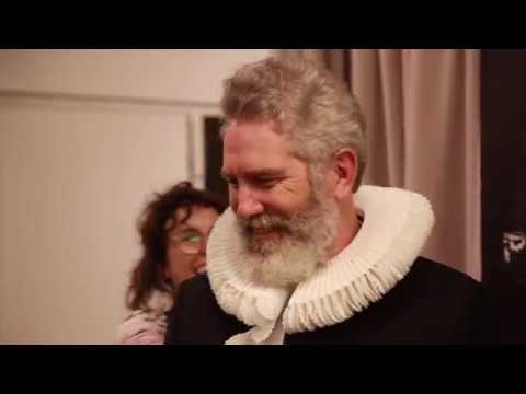 Making Elizabethan Ruffs, with STC's Milliner Rick McGill