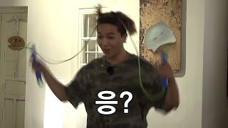 (ENG/SPA/IND) [#NJTTW] Mino's Triple Jump Rope Talent Will Make You Laugh | #Official_Cut | #Diggle